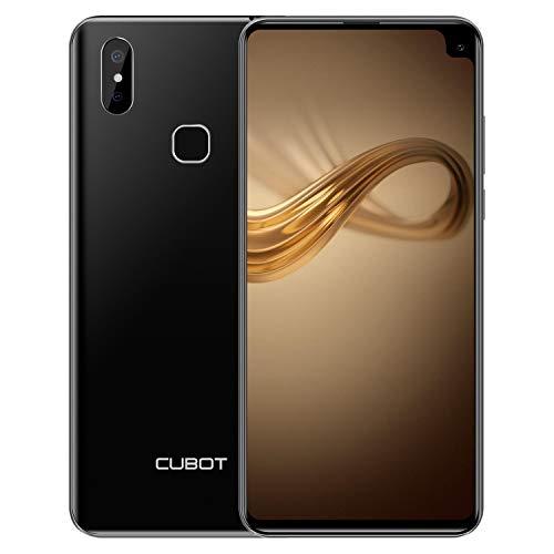 CUBOT MAX 2 Smartphone 6.8 Pollici 4GB RAM 64GB ROM, Batteria 5000mAh, Lo Schemo Corning Gorilla, Octa Core Helio P22, Sony Fotocamera 12MP+2MP Dual 4G-Lte Cellulare Dual SIM Phablet Nero