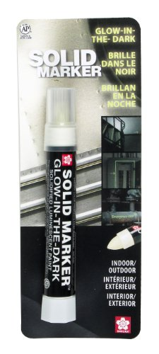 Sakura Solid Marker, Glow-in-The-Dark, Solidified Paint Marker (46594)