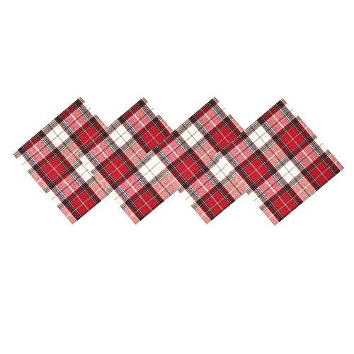 mantel con servilletas de tela a juego de la marca Lintex