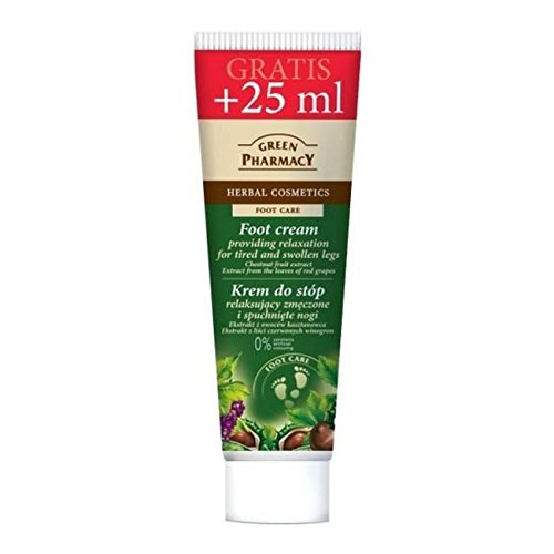 Crema relajante de pies Green Pharmacy (100 ml.)