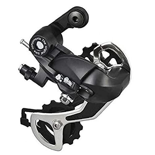 Trasera de bicicletas de montaña Desviador 7 Velocidad de bicicletas MTB Accesorios Desviador Transmisión de ciclo al aire libre accesorios de la bici