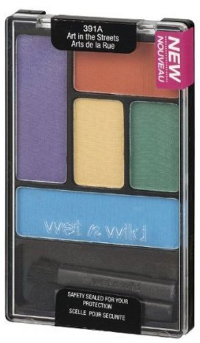 WET N WILD Color Icon Eyeshadow Palette 5 Pan - Art in the Streets by Wet 'n' Wild