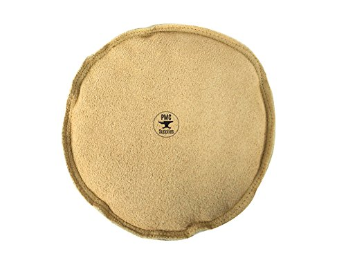 """8"""" Diameter Leather Sandbag Cushion for Metal Dapping Stamping Hammering Chasing Forming Jewelry Tool"""