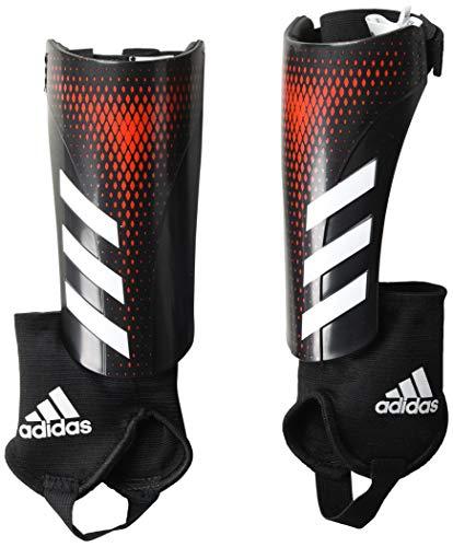 adidas Adult Predator 20 Match Shin Guards, Black/Active Red, Medium Adidas Red Shin Guard