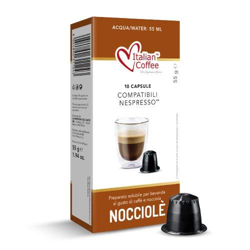 60 Capsule caffè alla nocciola compatibili Nespresso* Italian Coffee