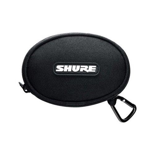 Shure EASCASE Soft Zippered Pouch for All Shure Earphones (Black)