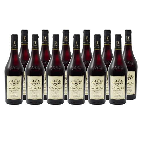 Côtes du Jura Trousseau Rotwein 2018 - Domaine Jean-Luc Mouillard - g.U. - Jura Frankreich - Rebsorte Trousseau - 12x75cl