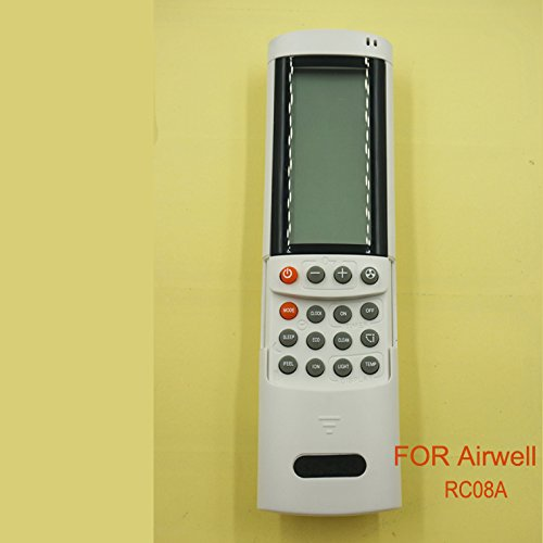 Generic Replacement Airwell Rc08a Remote Control Use for Airwell Air Conditioner