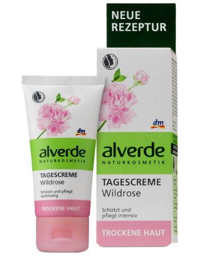 Alverde Tagescreme Wildrose, 6er Pack (6 x 50 ml)