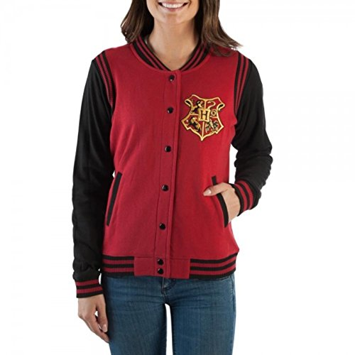 Harry Potter Juniors Gryffindor Quidditch Jacket (X-Large)