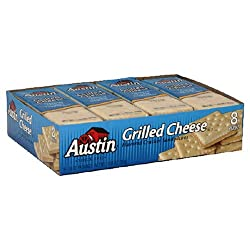 Austin Grilled Cheese Cracker Sandwich 1104-Ounce 8-Count Packages (Pack of 12)