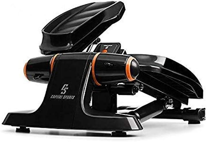 Ministepper, carico massimo: 120 kg, multifunzione con display lcd capital sports galaxy step FITN12-90300-fevq