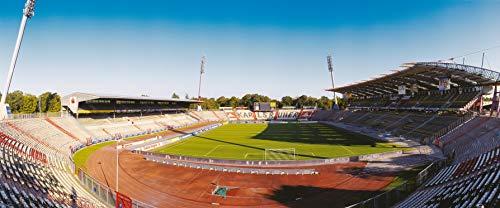 Karlsruhe Stadion Panorama – Poster 120 x 50 cm – hochwertiger FineArtPrint