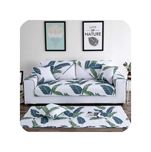 dudifeng Sofabezug aus 100% Baumwolle, modernes Design, für Sofas und Sofas geeignet, mit Ecktuch, Doppelhandtuch, Sofa...
