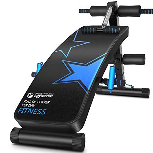 FGVDJ Tabla de Abdominales Fitness Ligero Hogar Multi-Entrenamiento Abdominal/Hyper Back Extension Banco,...