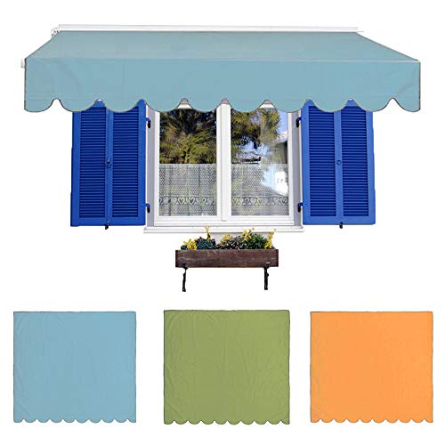 Aemiy Awning Canopy Sun Shade Shelter Waterproof Awning Cover for Garden Patio Courtyard Outdoor