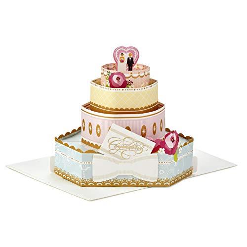 Biglietto Di Auguri Pop-Up Per Matrimonio Di Hallmark 'Cake' – Medio