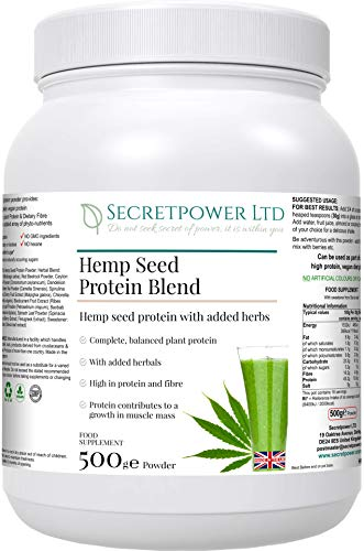 Hemp Seed Protein Blend, Joints and Connective Tissue Formula, 500g Powder