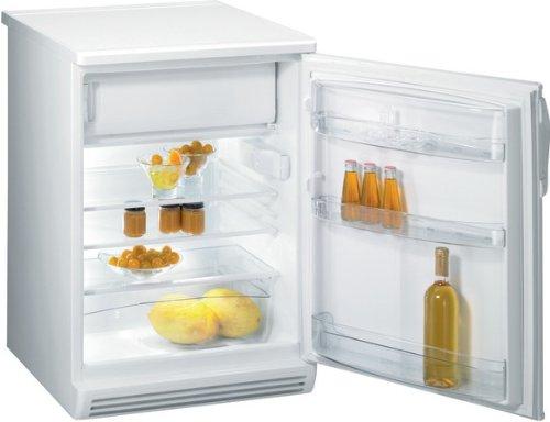 Gorenje RB6092AW Kühlschrank / A++ / Kühlteil: 124 L / Gefrierteil: 21 L / weiß / Großer Obst- und Gemüsebehälter / LED Innenraumbeleuchtung / Eco Top Ten