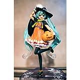 Yjdr Model Kit Girl TAITO Halloween Hatsune Miku 2nd Season Figure Bulk Goods Height 19 cm/7.1 Inches Anime Hobbies