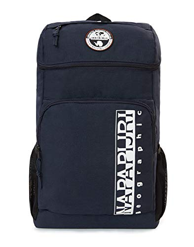 Napapijri HAPPY BACK PACK Mochila tipo casual, 42 cm, 20 liters, Azul (Blu Marine)