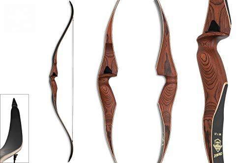 Recurvebogen Jagdbogen traditioneller Bogen Dymond 30 lbs