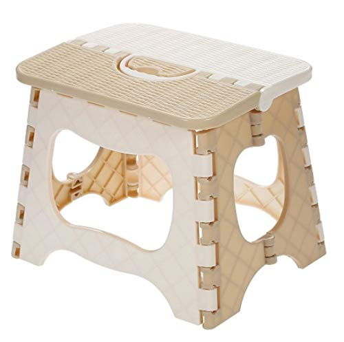 chenxing Stool Board Plastic Folding Stool Portable Folding Chair Children Bathroom Home Mini Outdoor Camping Barbecue Stool B