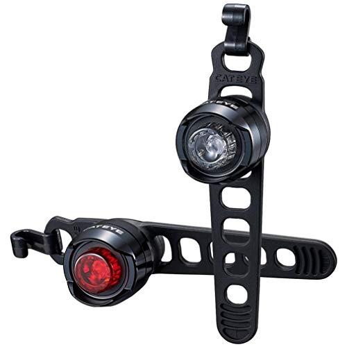 Cateye Bicyclette Cycle Vélo Orb arrière Batterie Lumière Noir Poli