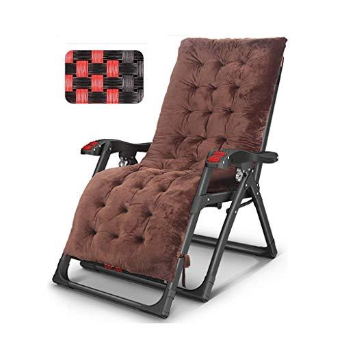 SBDLXY Folding Reclining Chair Garden Zero Gravity Reclining Deck Chair Folding Patio Sun Lounger Pregnant Women The Elderly Backrest Armchair