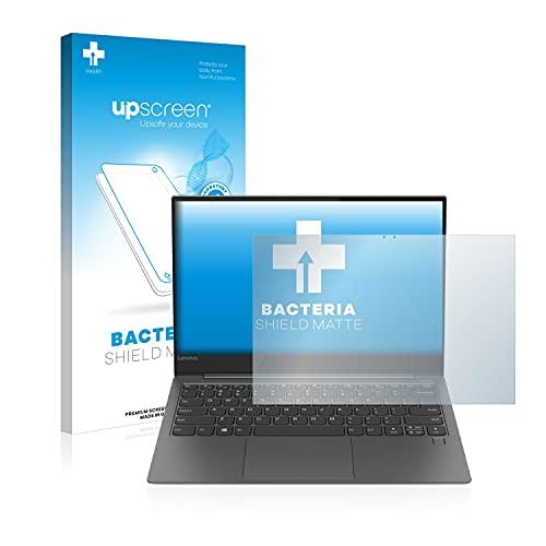 upscreen Antibakterielle Entspiegelungs-Schutzfolie kompatibel mit Lenovo Yoga S730-13IWL - Anti-Reflex Bildschirmschutzfolie matt, Anti-Fingerprint