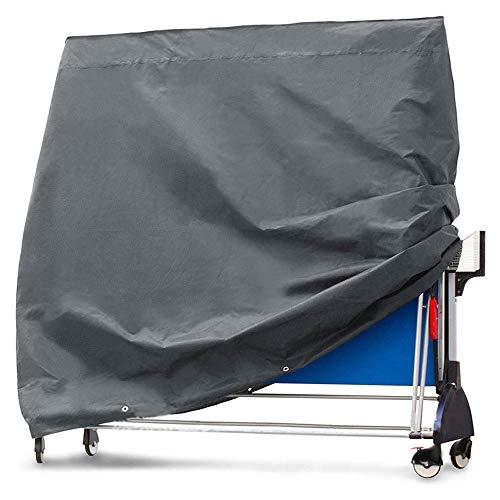 HIGGER 1 Satz 210D Oxford Stoff Tischtennisplatte Abdeckung Wasserdicht UV Schutz Atmungsaktive Outdoor Tischtennisplatte Abdeckung