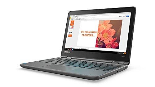 Lenovo Flex 11 Chromebook 11.6-Inch HD IPS Touch Panel (1366x768) MTK 8173c 4GB 32GB Chrome - ZA270025US