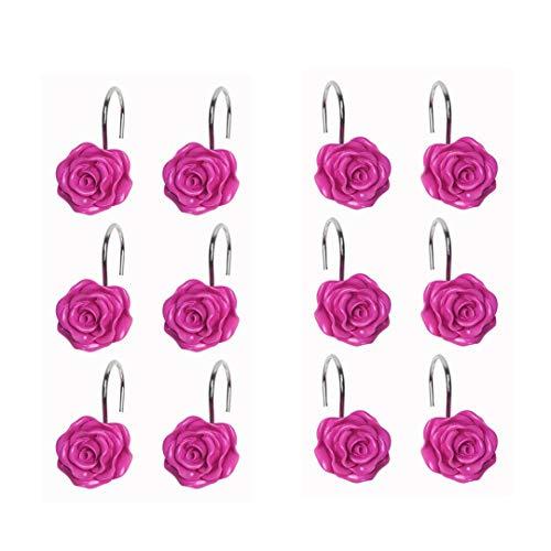 pink resin rose - 8