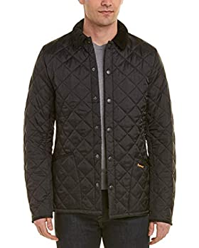 Barbour Liddesdale Classic Quilted Jacket  L Black