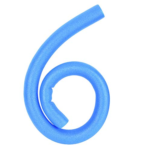 Qqmora Palo de Espuma de Espuma de Fideos para Piscina no tóxico Adecuado para Juegos interactivos Entre Padres e Hijos Equipo de Gimnasia para niños(Blue)