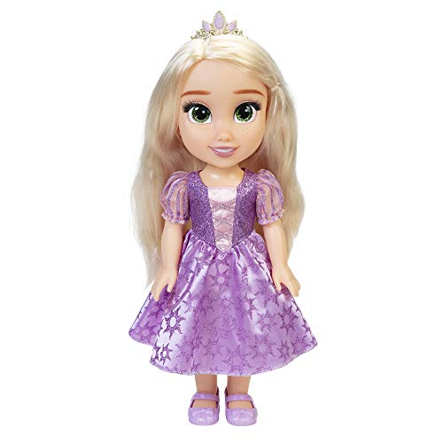 Princesas Disney, Mi Amiga Rapunzel, Mueca Grande (35 cm)
