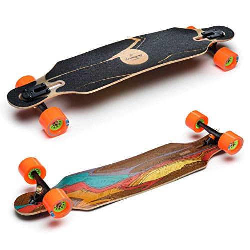 Loaded Longboards ICARUS FLEX 2 Complete Longboard PARIS 180 & ORANGATANG INHEAT by Loaded