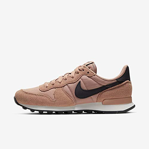 Nike Damen WMNS Internationalist Leichtathletikschuhe, Mehrfarbig (Rose Gold/Oil Grey/Summit White 617), 40 EU