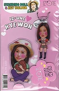 カン・ヘウォン/IZ*ONE/アイズワン/IZONEスタンディングドール&キーホルダー ※韓国店より発送の為、お届けまでに約2週間