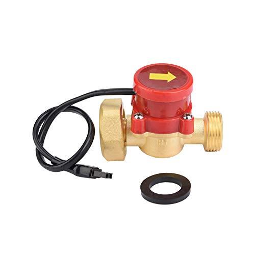 Betued Interruptor de Control de Flujo, Interruptor de Flujo de Agua de Inicio de Baja presión de Agua de Rendimiento Estable de Acero Inoxidable, hogar de Graden para Cocina casera