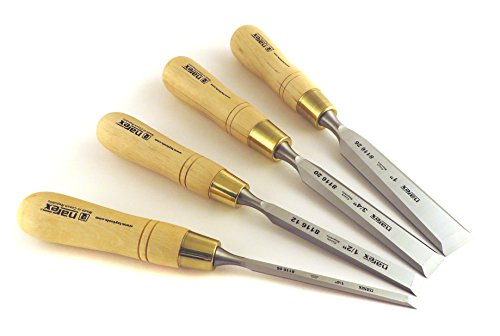 Narex Czech Steel Premium 4 pc Set True Imperial 1/4, 1/2, 3/4, 1 Inch...