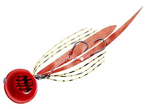 メジャークラフト メタルジグ タイノミ60g TM-60/#8 RED/ORANGE