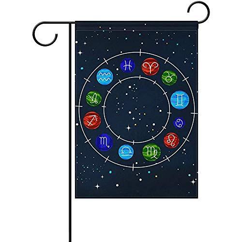 Hao-shop decoratiebord voor de tuin, motief: sterrenbeeld, voor buiten