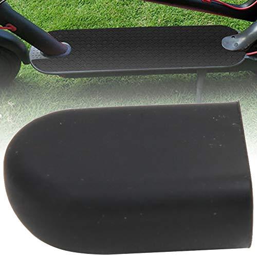 Alomejor Scoooter eléctrico Soporte de pie Cubierta Soporte de Silicona para pie Accesorios para M365 ES2 Ebike Kickstand