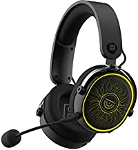 Trusyo Audio 2.4GHz Wireless Gaming Headset for Computer, Playstation, Nintendo Switch, pc, with RGB Lights Low lag and Long Battery Life for Gamers