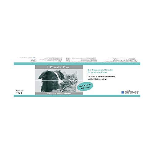 ReConvales®Power 140 g Inhalt: 140 g Diät-Ergänzungsfuttermittel für Hunde und Katzen Zur ernährungsphysiologischen Wiederherstellung und in der Rekonvaleszenz