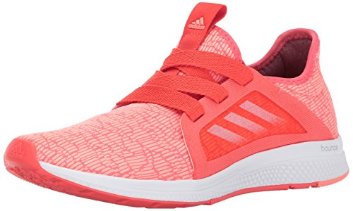 adidas Women's Edge Lux w Running Shoe, Easy Coral/Sun Glow/White, 9 M US