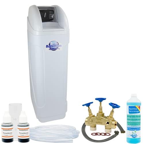 Wasserenthärter Entkalker MKB 60 Eco-Line von Aquintos Wasseraufbereitung | Entkalkungsanlage mit Bypass-Funktion für 100{a24e28501253b3e84b32d1240635a17de0df6a1de153dda9cbb77789456ffaed} kalkfreies Wasser | Komplettset