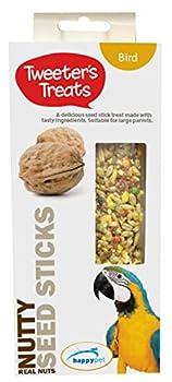 Tweeter de friandises Bâtons de graines pour Les perroquets, Nutty