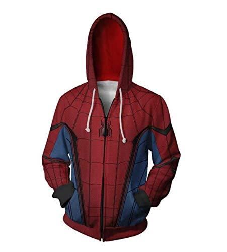 Hoodies,Marvel Spider Hero keert terug 3D Sweater Vest Tuniek Cosplay Film Hoodie
